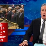 Jon Stewart Mocks the UK Parliament's Gay Marriage Debate: VIDEO