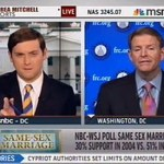 MSNBC's Luke Russert Hammers Tony Perkins on DOMA: 'So You Equate Homosexuality with Polygamy?' – VIDEO