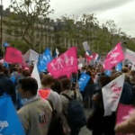 Thousands Rally In Paris Against Gay Marriage: VIDEO