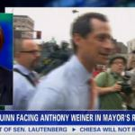Piers Morgan Warns Lesbian Mayoral Candidate Christine Quinn That 'The Weiner is Coming': VIDEO