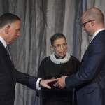 Supreme Court Justice Ruth Bader Ginsburg Officiates at Gay Marriage