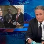 Jon Stewart Celebrates Cory Booker's Awkward First Gay Wedding: VIDEO