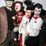 Neil Patrick Harris and David Burtka Post Monster Family Portrait for Halloween: PHOTO