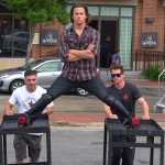 Channing Tatum Recreates Van Damme's Epic Split: VIDEO