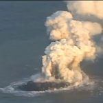Erupting Volcano Creates New Island Off the Coast of Japan: VIDEO