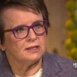 Billie Jean King Talks Sochi on 'Meet the Press': VIDEO