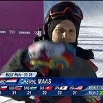 Out Dutch Snowboarder Cheryl Maas Makes Gay Rights Statement on Sochi Slope: VIDEO
