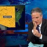 Jon Stewart Rips Arizona and Kansas for Bills Legalizing Anti-Gay Discrimination: VIDEO