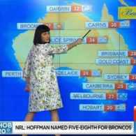 Katy Perry Does the Australian Weather Forecast: VIDEO