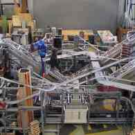 Artist Chris Burden Created Metropolis II, An Amazing, Functioning Cityscape: VIDEO