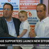 Michigan Marriage Equality Supporters Launch Campaign for 2016 Ballot Effort: VIDEO