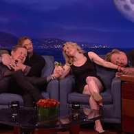 Kate McKinnon Inspires Andy Richter to Mount Kellan Lutz on 'Conan': VIDEO