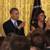 President and Mrs. Obama Host White House Pride Reception: VIDEO