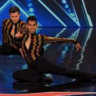 Male Salsa Dancers – One Straight, One Gay – Dazzle 'America's Got Talent': VIDEO
