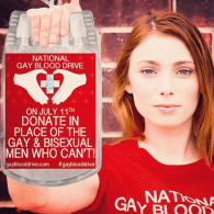 National Gay Blood Drive on Friday to Urge FDA to Lift Ban: VIDEO
