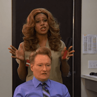 Laverne Cox and the 'Orange is the New Black' Cast Take Over Conan: VIDEO