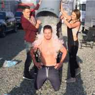 'Arrow' Star Stephen Amell Gets Wet and Shirtless for Charity: VIDEO