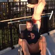 John Barrowman Gets Ice-Bucketed By Jock Strap-Sporting Husband: VIDEO
