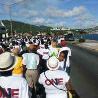 Opponents of Same-Sex Marriage March In U.S. Virgin Islands Following Similar Rally in Jamaica