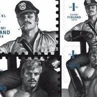 Tom Of Finland Stamps Break Postal Sales Records – VIDEO