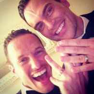 Cheyenne Jackson Marries Boyfriend Jason Landau