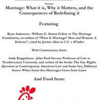 Conservative Group at Northwestern Offers Chick-Fil-A At Gay Marriage 'Debate', Infuriates Students