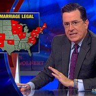 Stephen Colbert Doesn't 'Give a Whatevs' About the String of Recent Gay Marriage Victories: VIDEO