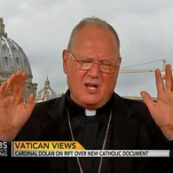NYC Cardinal Dolan Says Pro-Gay Document from Vatican 'Needs Some Major Reworking': VIDEO