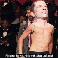 Gay Men's Chorus Of Los Angeles And Rob Cantor Tell The Story Of Actual Cannibal Shia LaBeouf: VIDEO