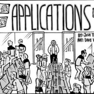 'Applications', the Tale of a Guy, His Phone, and a Dating App: Comic Strip
