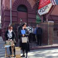 LGBT Activists Offer Free Starbucks Outside Harlem Hate Church: PHOTO