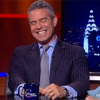Stephen Colbert Drills Andy Cohen About His 'Epic Shallowness': VIDEO