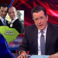Stephen Colbert is Apoplectic That Gay Marriage Has Come to the Place He Cares About the Most: VIDEO