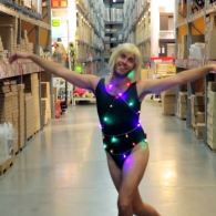 This Sia 'Chandelier' Music Video Recreation Inside IKEA Wins Christmas: VIDEO