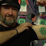 Vermont Artist Wins 3-Year Battle Against Chick-Fil-A for 'Eat More Kale' Trademark: VIDEO