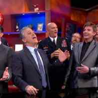 Check Out Stephen Colbert's Epic, Star-Studded Send Off on 'The Colbert Report' Finale: VIDEO