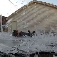 This Guy Jumping Onto a Frozen Trampoline Might Just Make Winter Worth The Cold: VIDEO