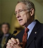 Harry Reid Spent New Years In the Hospital After Breaking Ribs and Facial Bones in Exercising Accident