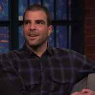 Zachary Quinto Teases His Nearly Nude Upcoming Appearance on 'Girls' – VIDEO