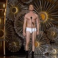Neil Patrick Harris Strips Down to His Underwear at the Oscars: VIDEO