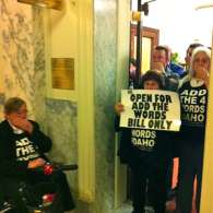 Dozens of LGBT Activists Arrested At Idaho State Capitol In Second Major Protest This Year