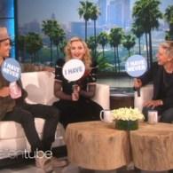 Madonna, Justin Bieber and Ellen Play 'Never Have I Ever' – VIDEO