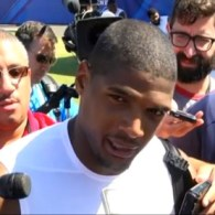 Michael Sam Says He's 'Confident' He'll Be Playing Football Somewhere This Year: VIDEO