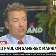 Rand Paul: Gay Couples Can Sign Marriage 'Contracts' as Long as Religion is Not Involved — VIDEO