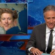 Jon Stewart Picks Apart Rand Paul's Ridiculously Tedious 2016 Announcement: VIDEO