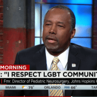 Ben Carson Calls LGBT Community the 'Flavor of the Day,' Won't Support Ban on 'Conversion Therapy' – VIDEO
