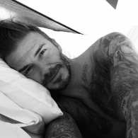 David Beckham Inaugurates His Instagram Account With a Shirtless Birthday in Bed Selfie: PHOTO
