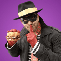 McDonald's New Hamburgular Is A DILF In A Mask: WATCH