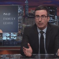John Oliver's Segment on Paid Family Leave Reveals Just How Terrible America Is At Supporting New Moms: VIDEO