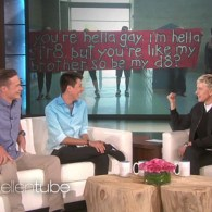 Ellen Has a Surprise for the Straight Guy and the Gay Best Friend He Invited to Prom: VIDEO